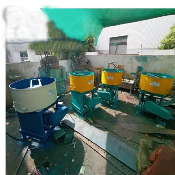 Pan Concrete Mixer Machine/ Fly Ash Brick And Concrete Block Mixer Machine