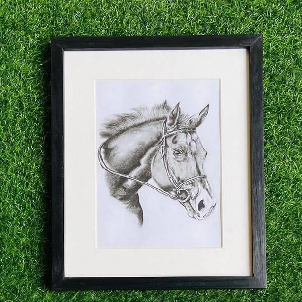 CHARCOAL PAINTING (Born to b wild-Code-023)