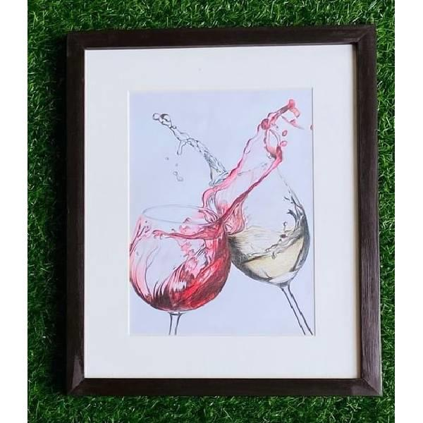 PENCIL COLOUR STILL LIFE PAINTING (Shades of dream-Code-035)