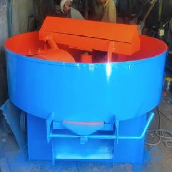 350 kg Pan mixer for flyash