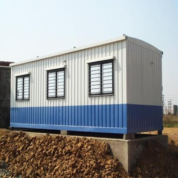 Rectangular Steel container site office