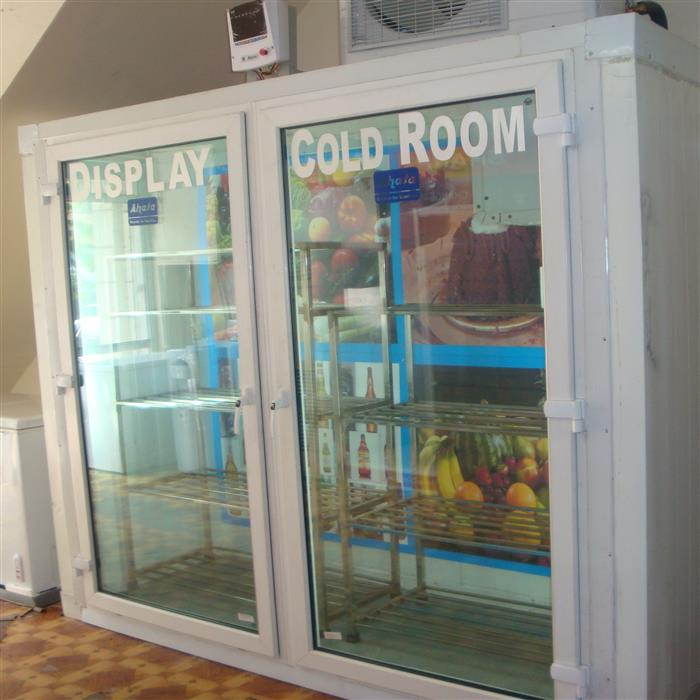 Display Cold Room 8X3X8