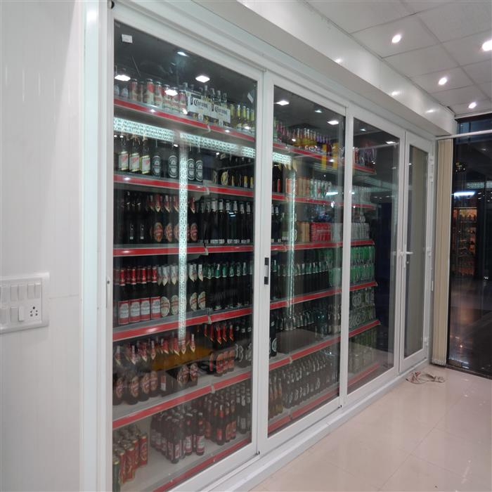 Display Cold Room 10X6X8