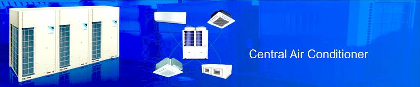 How does the Central Air Conditioner system works
