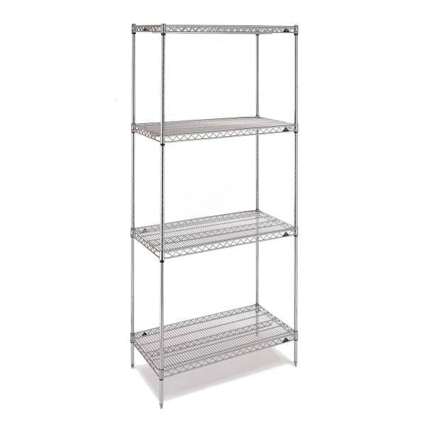 """stainless steel Rack 72""""(H)X48""""(W)X18""""(D)"""