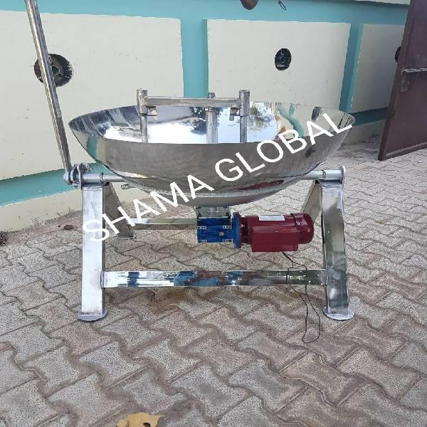 Steam operated khoya making machine
