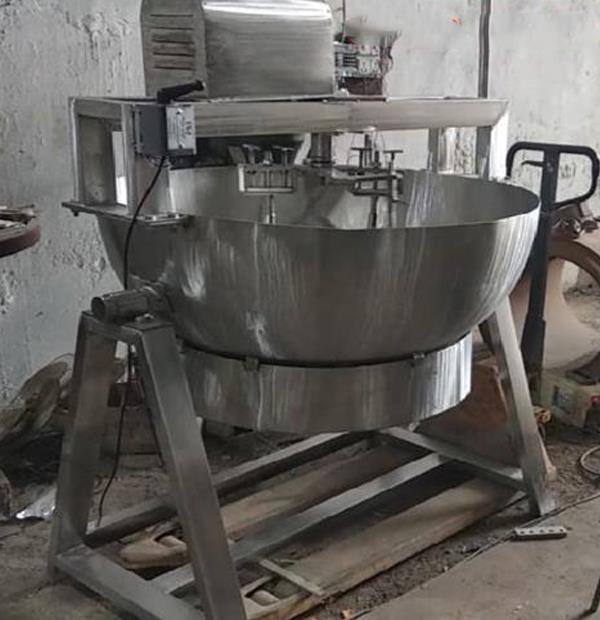 Automatic Steam operated khoya making machine