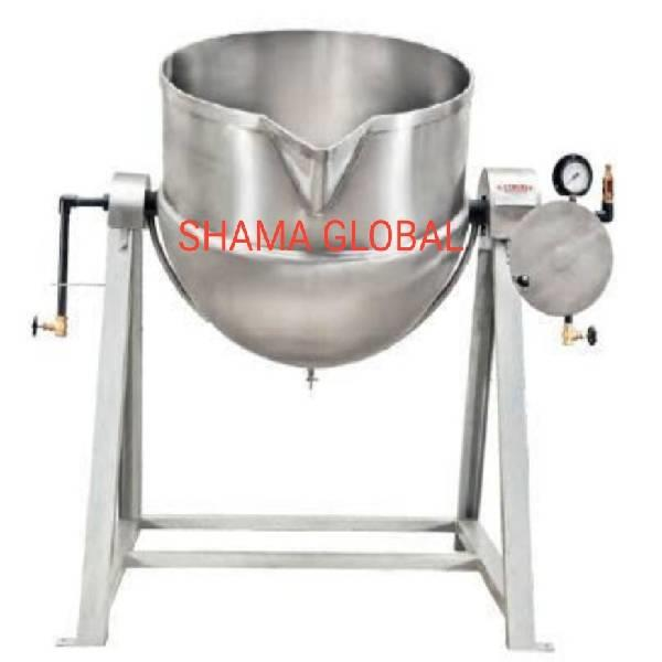 Jacketed steam kettle