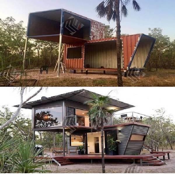 Portable double floor Cabin