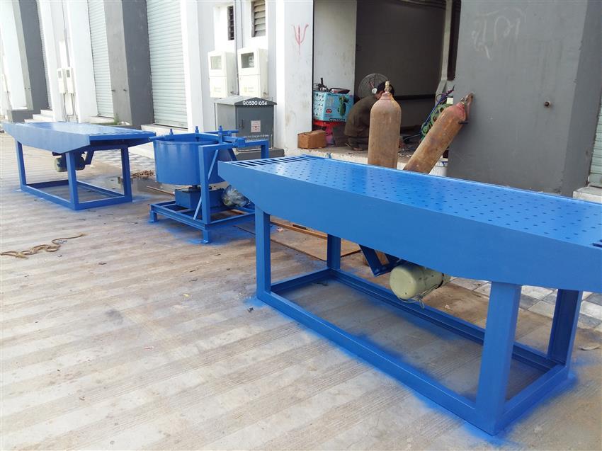Manual Vibration Paver Block Making Machine, HVB103S