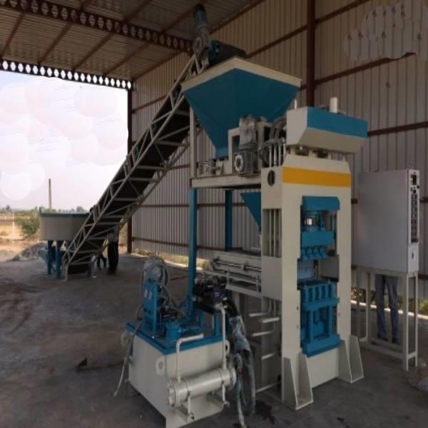 Automatic Fly Ash Brick Machine - 6 KVT l FBM 1500 | Cement Concrete Brick And Block Machine fully automatic bricks machine AKSHAR PRECAST INDUSTRES