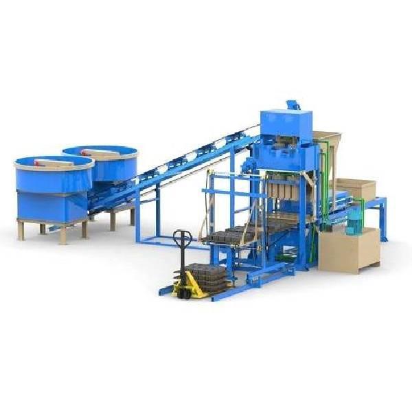 Automatic Solid Concrete Block Making Machine L Concrete And Cement Solid Block Making Machine
