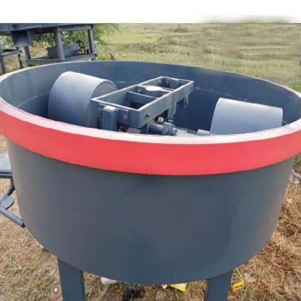 Fly Ash Brick Pan Concrete Mixer