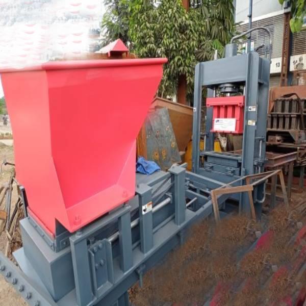 Solid Automatic 4 KVT Fly Ash Brick Machine l Cement Brick Making Machine