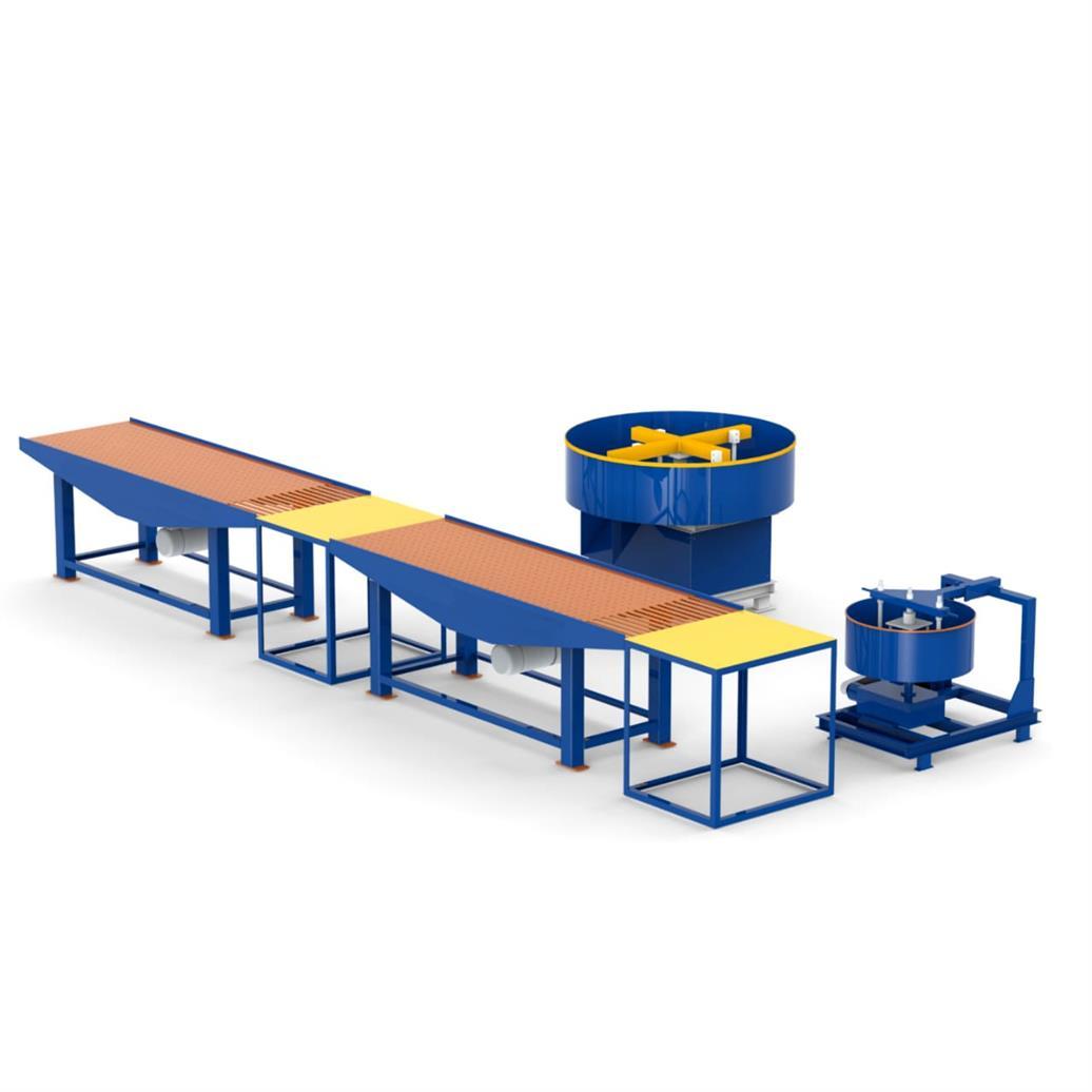 Manual Paver Block Making Machine, Vibrating Table set for paver bock, HVB925S, HVB EXPORTS