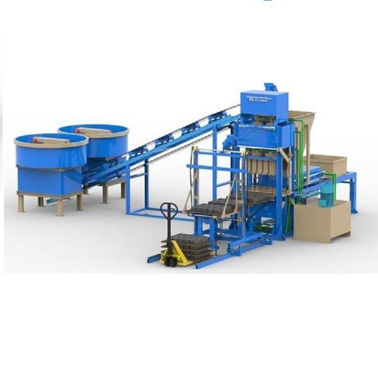 Automatic Cement Brick Making Machine, Hollow Block, Concrete Block Making Machine, 6 Brick per stoke   HVB1080
