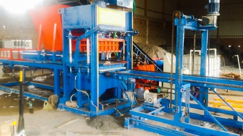 Fully Automatic Fly Ash Brick Plant, Fly Ash Brick Making Machine, 18 Brick per stoke, HVB2592 | HVB Exports