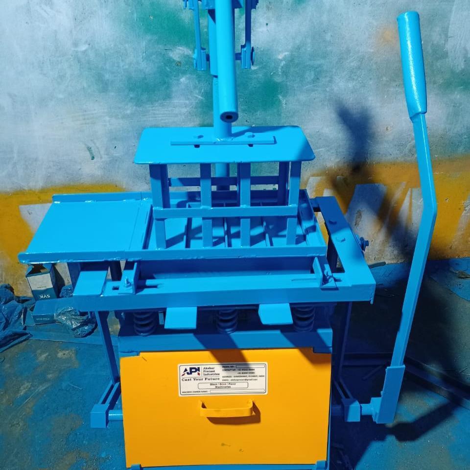 manual fly ash bricks making machine, cement bricks making machine | API 300