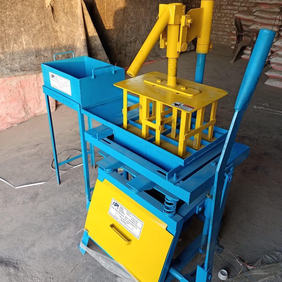 manual concrete blocks making machine , cement blocks making machine | API 300