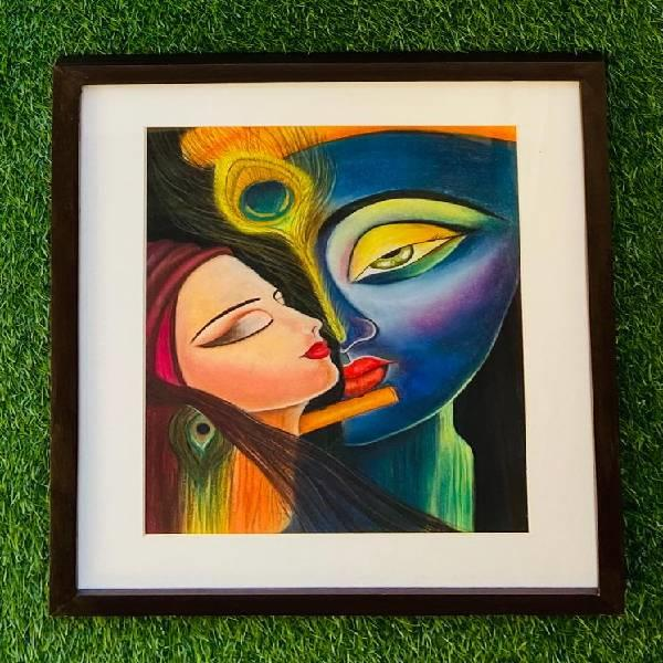 Soft pastelportrait  painting (shades of passion  code - 09)