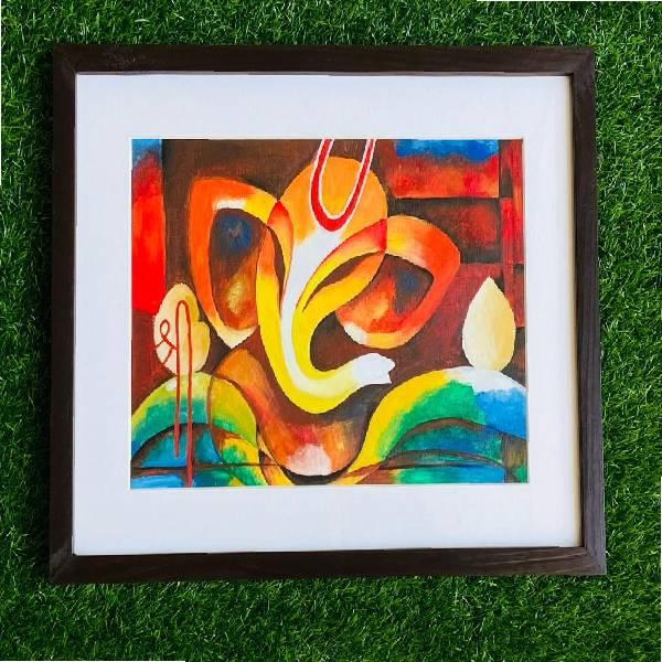 ACRYLIC ABSTRACT PAINTING( Shades of passion code -010)