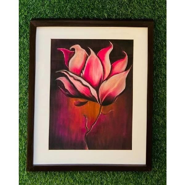 SOFT PASTEL PAINTING( Beauty in Bloom ) CODE- 015