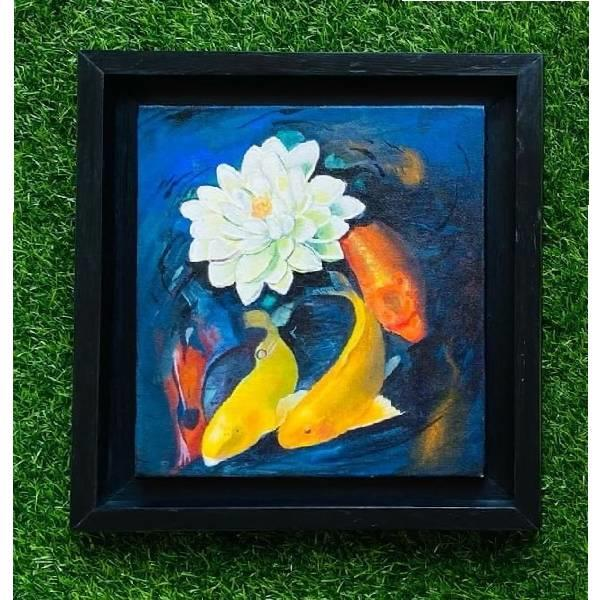 ACRYLIC PAINTING (Beauty in Bloom  ) CODE -013