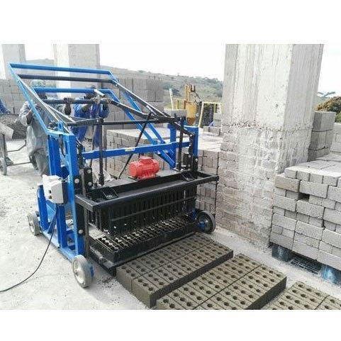 Manual vibro cement concrete block machine