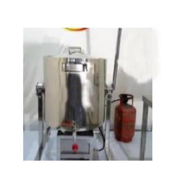 Bulk Cooker Gas Operating, Capacity: 50ltr