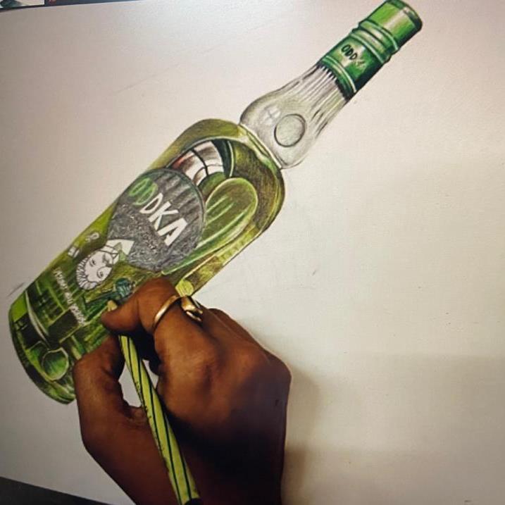 Pencil colour  stilllife paintings classes(seniors 12+ no age bar )