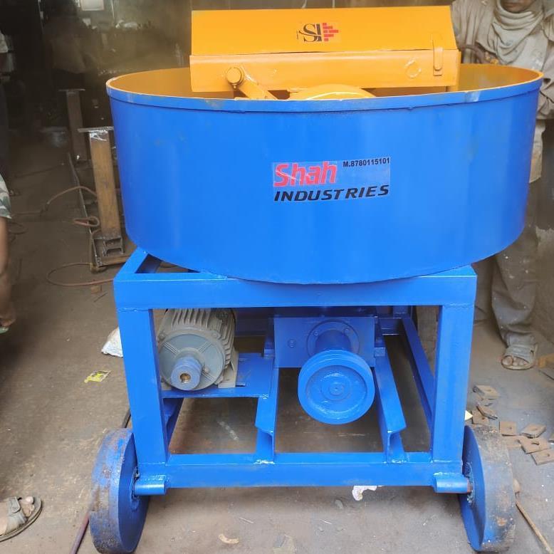 Movable Pan Mixer