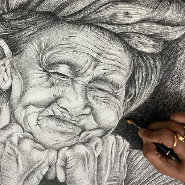 Pencil shading Art & Painting course Art Classes