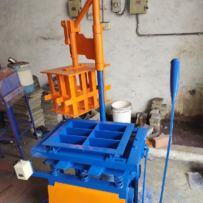 Manual flyash Brick Machine 6 Cavity Brick Machine SI-M400, Cement Concrete Bricks Blocks Machine