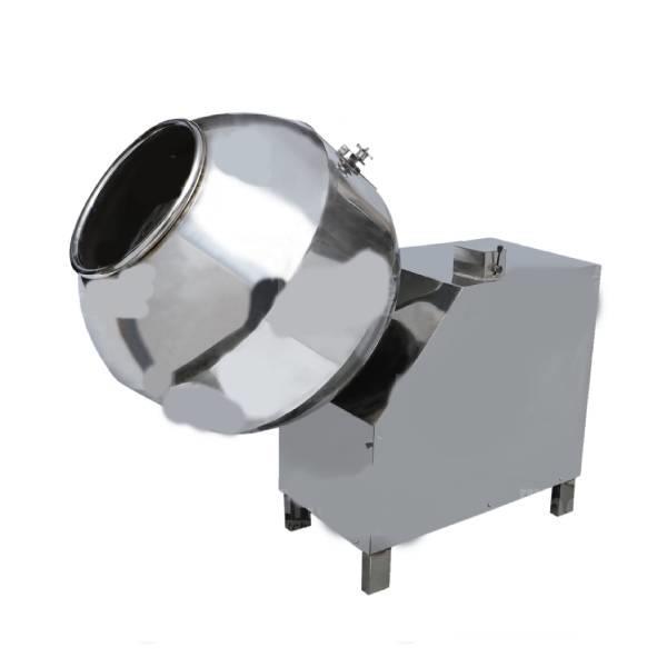 Flavour coating pan (running)