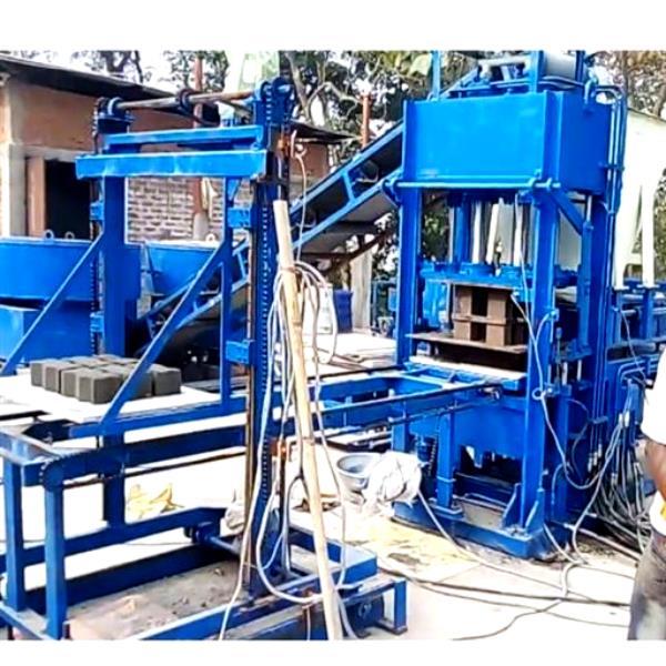 Automatic Fly Ash Brick Making Machine, 6 cvt, Hollow Block Making Machine, Solid Block Making Machine, HVB1080