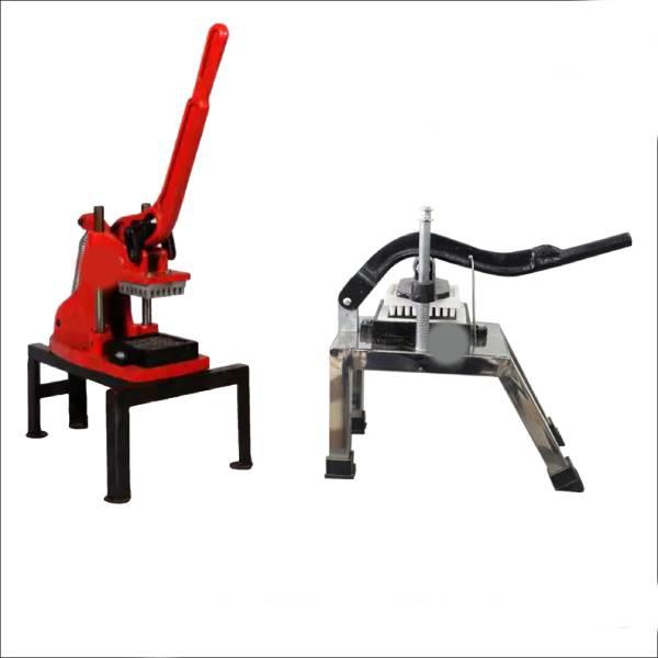 Hand operated finger chips machine ( SS BODY / PLASTIC DIE )