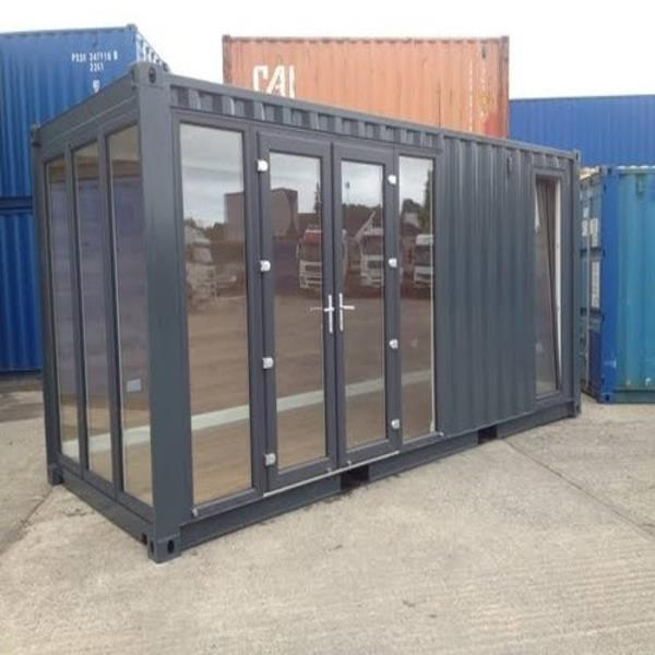 Steel Portable Container Office Cabins
