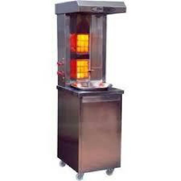 Cylinder model shawarma with vapa burner