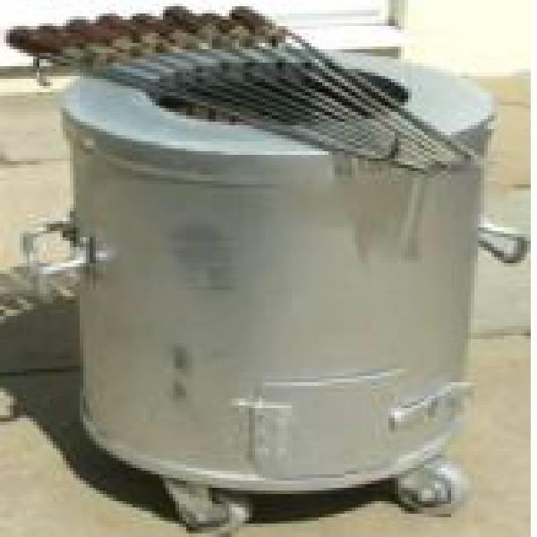 Ss round tandoor pot