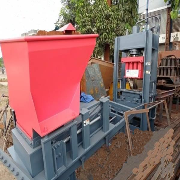 Automatic Fly Ash Brick Machine 4 KVT  l Cement Brick Making Machine FBM 1000 fully automatic concrete block making machine   AKSHAR PRECAST INDUSTRIES