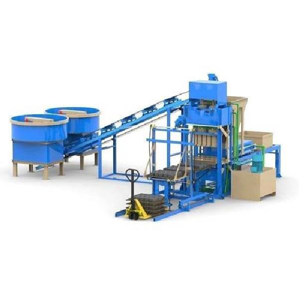 Mild Steel Interlocking Block Making Machine, Automation Grade: Fully Automatic, Capacity: 1000-1500 Blocks per hour