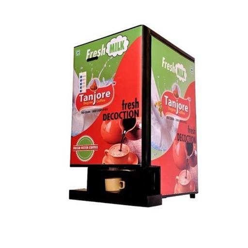 Stainless Steel And Mild Steel Tanjore Fresh Decoction Coffee Vending Machine, For Office,Restaurants