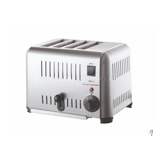 1800 Watts Stainless Steel 4 Slice Toaster Machine For Commercial