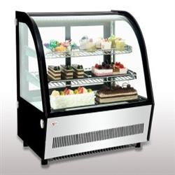 Curved Glass Cold Counter