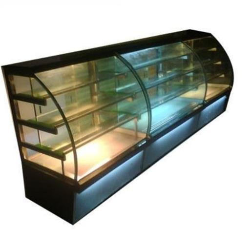 Glass, Steel Cake Display Counter