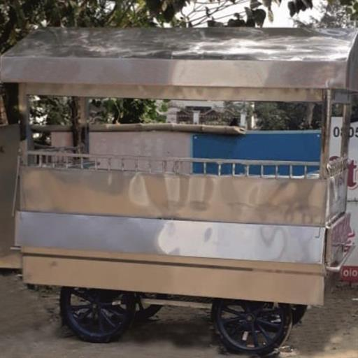 stainless steel Thela / Food Cart