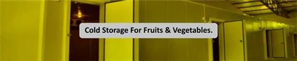 Designing of Cold Storage For Fruits And Vegetables