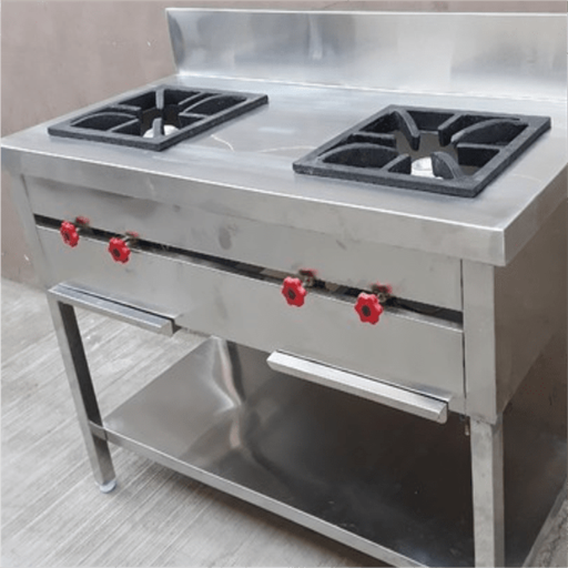 Indian Cooking Range Two Burner