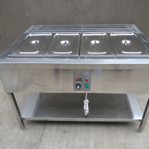 Hot Bain Marie with Slide Tray