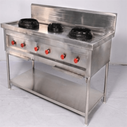 Chinese Cooking Range (W/o Drain & Tap)